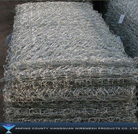 PVC Gabion Baskets/Galvanized Gabion boxes (Anping Factory ISO9000,BV,SGS+lower price)
