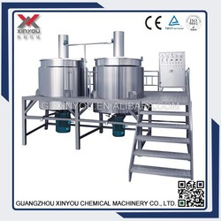 XY-C Chemical Detergent Liquid Soap /shampoo /lotion Making Machine