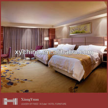 Twin Hotel bedroom suite for five star -supplier hotel furniture