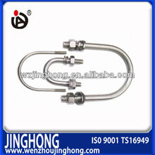 High quality low price 304 carbon and stainless steel U bolt