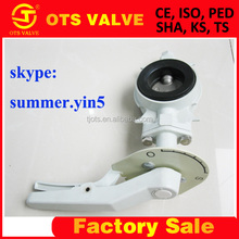 Anti-condensation Butterfly Valve Lever /Worm Handle From Chinese Favtory