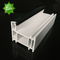 manufacturer white window door frame extrusion pvc plastic profile