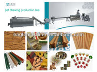 100-200kg/h automatic rawhide dog chew treats feeding making machine with CE ISO SGS