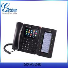 Wifi SIP Phone Grandstream Next-generation Android Intelligent IP Phone GXV3240