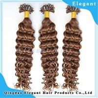 Alli Express Best Wholesale Websites 100% Brazilian Remy Virgin Hair Deep Wave Human Hair U Tip Hair Extension