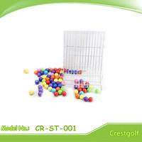 Durable golf ball dispenser Golf ball display case golf ball display rack