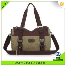 Multifunctional bucket shape classic canvas bag wholesale