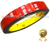 Wholesalers most popular products 3M acrylic pressure sensitive adhesive double sided foam tape silicone