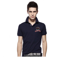 LOGO OEM golf polo shirt for men/Factory direct 100% new design polo t-shirt
