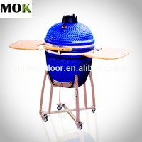 garden grill smokeless kamado ceramic charcoal iron bbq grill design for balcony
