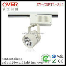 2/3/4 wires 8w 80lm/w led track light for clothing shop windows