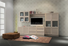 Modern Wall TV Cabinet with Showcase