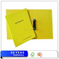 Hot paper executive loose leaf folder
