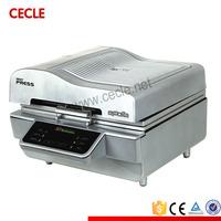 Small size 3d vacuum sublimation heat transfer press multi function printer