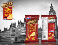 Mazz Popcorn (Cheddar Cheese Flavored)