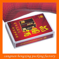 Industrial Use Custom Producing Playing Cards Made In China