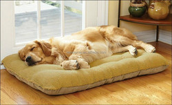 Large Warm Soft Fleece Pet Dog Cat Puppy Bed Mat Pad House Kennel Cushion