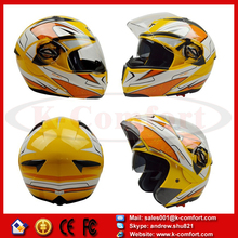 KCM63 for GXT double lens motorcycle helmet flip up full face helmet with best quality