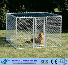 Hot Dipped Galvanized / PVC Coating Used Chain Link Fence for Sale / Cheap Chain Link Dog Kennels