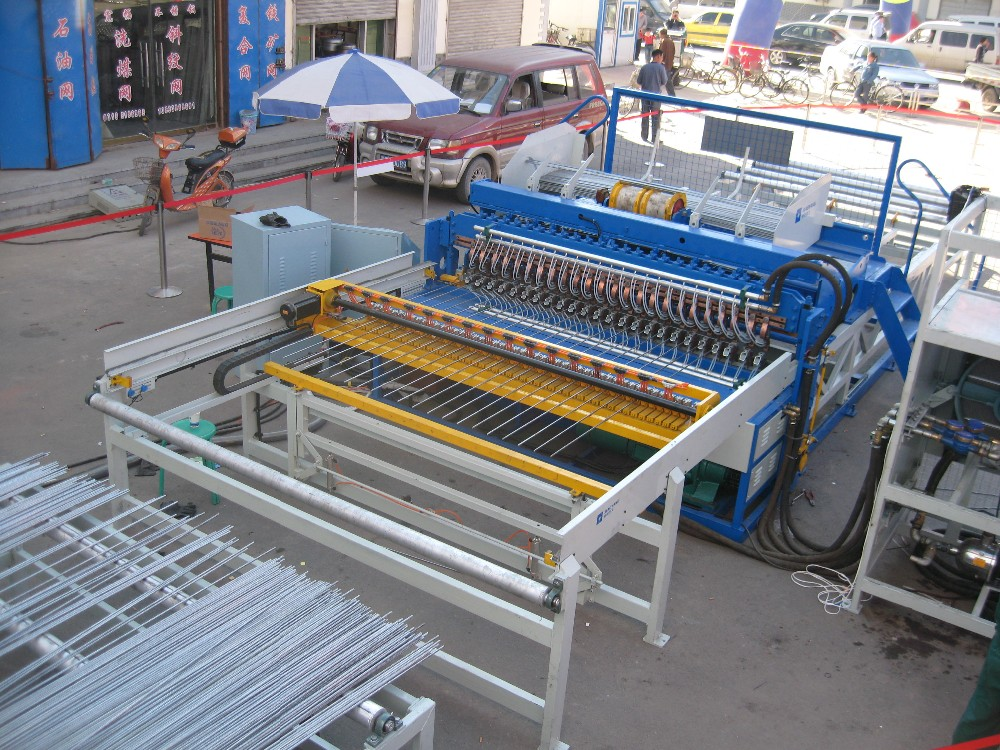 multi spot welding machine for wire mesh construct ISO