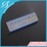 Highly quality Steel etched nameplate/label