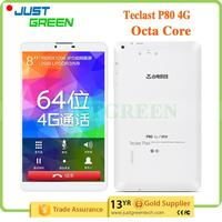 Best Quality Teclast P80 4G Octa Core 8 inch 2GB 16GB Andriod 5.0 4G extra sex power tablet with low price
