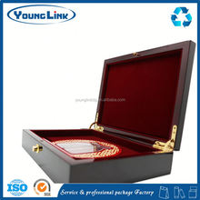 antique wooden box for top
