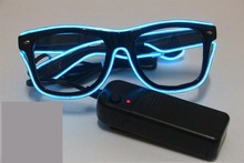 EL glasses Colorful LED Neon Glowing Light EL Wire Party Glasses for Gift Items
