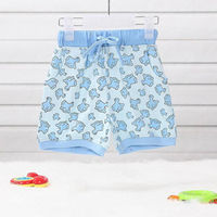 Baby Girls Clothing,Shorts,Baby Girl Pant,Dolphin Printed,Summer Casual Wear,Short,Drawstring.Good Quality,100% Cotton Knitted
