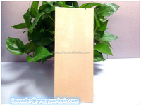 pe coated paper bag for flour packaging 70g single pe coated paper