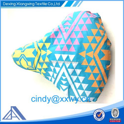 Promotional logo printed bicycle seat cover