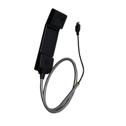 China manufacturer Paypal available high quality plastic integrated corded payphone handset