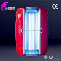 Alibaba Express Germany Lamps Chine solarium manufacturer Stand Solarium LED Tanning Bed with CE certification