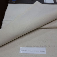 New Design 100%Polyester Bleached Twill Fabric stock lot for Trousers/Suit/Dress