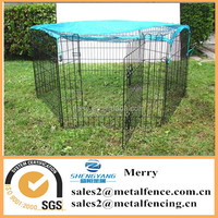 Hot sale walk in dog rabbit playpen run outdoor exercise pet cage