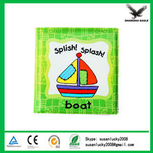 Most Popular Imprint Baby Bath Book for Promotion (directly from factory)