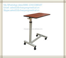 hospital over bed table,hospital dining table,wooden dining table CY-H836A