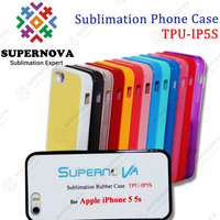 Sublimation Silicone Case for iPhone 5s