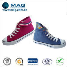 2014 new model casual fashion shoes canvas style fabric shoes for women