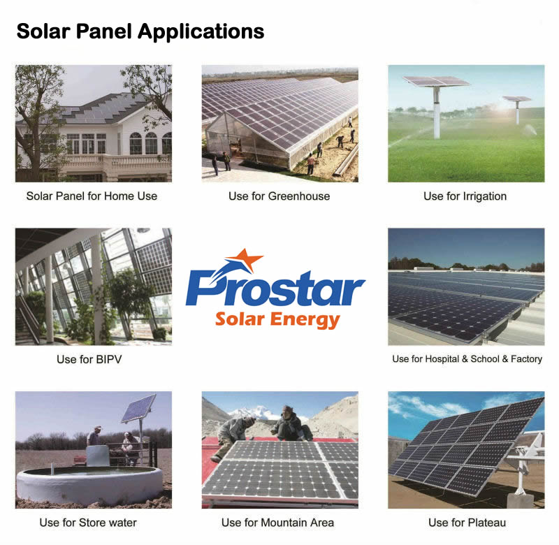 polycrystalline solar panel applications