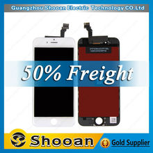 Hot sale item lcd for iphone 6,mobile phone assembly for iphone 6,copy for iphone 6 touch screen digitizer