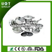 Familiar in ODM factory aluminium non-stick sonex cookware set