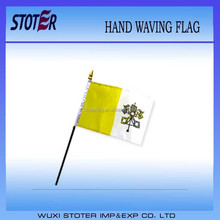 Vatican City 30*45cm hand waving flag