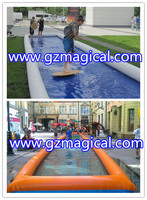 China Supplier inflatable slip n slide/ infatable water slip n slide for Skateboard