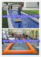 China Supplier inflatable slip n slide/ infatable water slip n slide for Skateboard