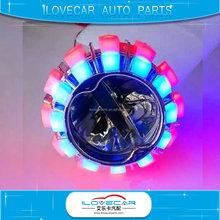 LED H/L projector lens for motorbike car led bulbs