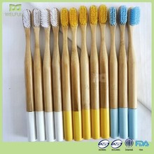 CE TUV LGA Free sample OEM 100% biodegradable wholesale eco bamboo tooth brush