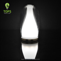 Glass material modern Style Warm White Color Temperature led magic rainbow lamp