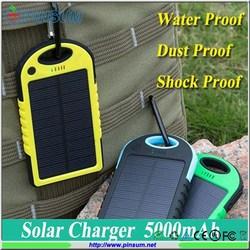 Cheap solar power bank 5000mah mobile charger