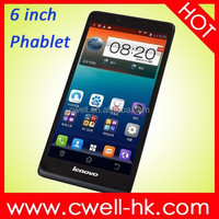 Lenovo A889 Phablet 6 Inch Big Touch Screen Mobile Phone Android 4.2 MTK6582 Quad Core 8GB ROM 8.0MP Camera Cheap Phablet